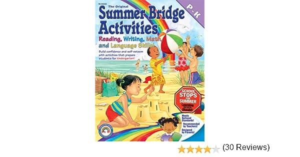 Amazon.com: Summer Bridge Activities: Preschool to Kindergarten ...