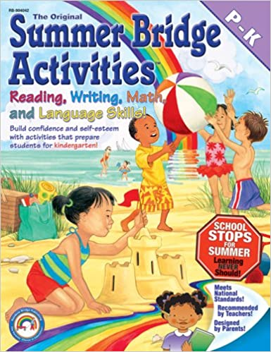 Amazon.com: Summer Bridge Activities: Preschool to Kindergarten ...