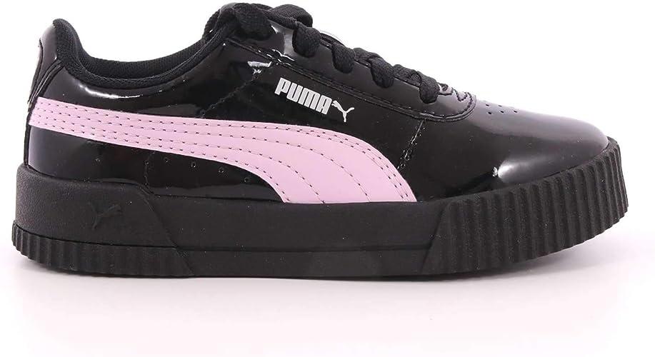 PUMA Chaussures de Baskets Fille Carina Patent PS en Cuir