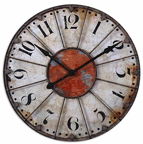 Uttermost Ellsworth Wall Clock (Hudson Metal Clock)