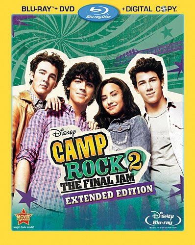 - Camp Rock 2: The Final Jam - Extended Edition (Three-Disc Blu-ray/DVD Combo + Digital Copy)