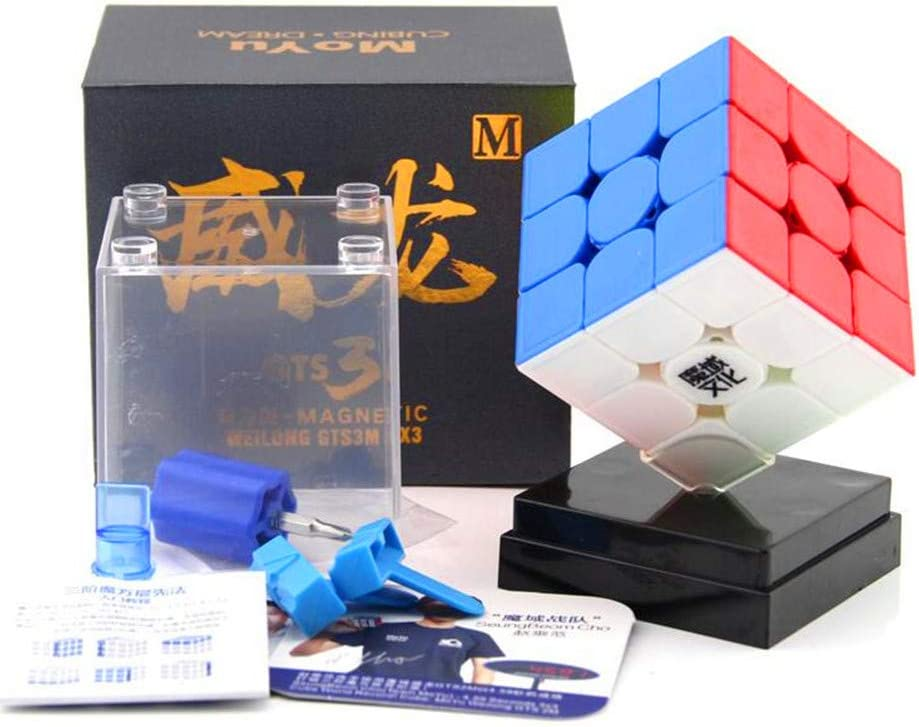 cuberspeed MoYu WeiLong GTS3 M stickerless 3x3 Magic Cube Magnetic MoYu WeiLong GTS V3 M Color 3x3x3 Speed Cube Puzzle