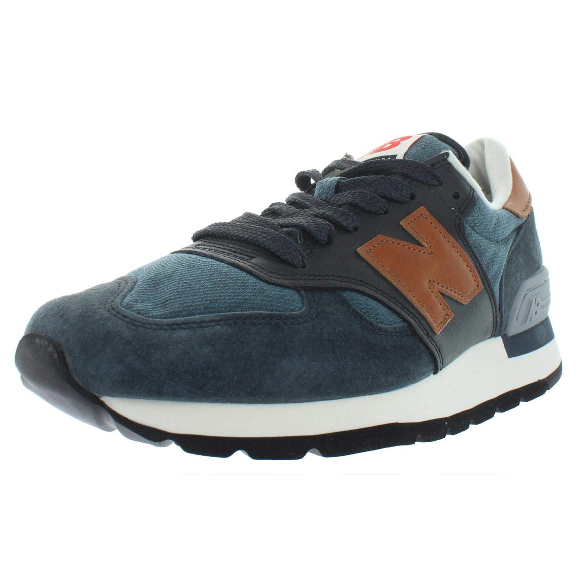 brand new eaf40 14100 Amazon.com | New Balance 990 (Ski) (Made in USA) Blue | Running