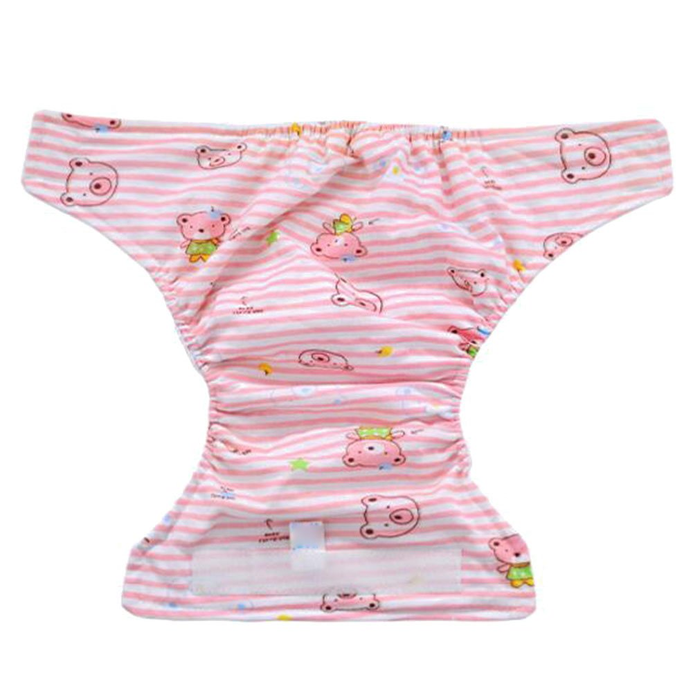 Deylay Cartoon Training Pants Cute Baby Infant Kids Briefs Pants Waterproof Diaper Nappy Underwear Pink Dog//0-3M