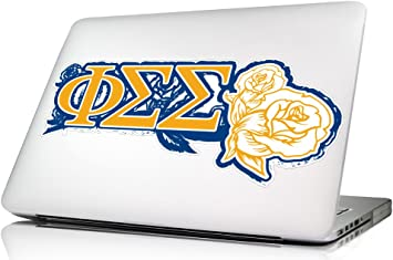 Amazon Com Phi Sigma Sigma Laptop Skin Wall Decal Computers Accessories