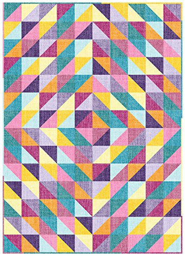 Connecting Threads Beginner Quilt Kit - Half-Square Triangle Fun (Chambray Tonal)