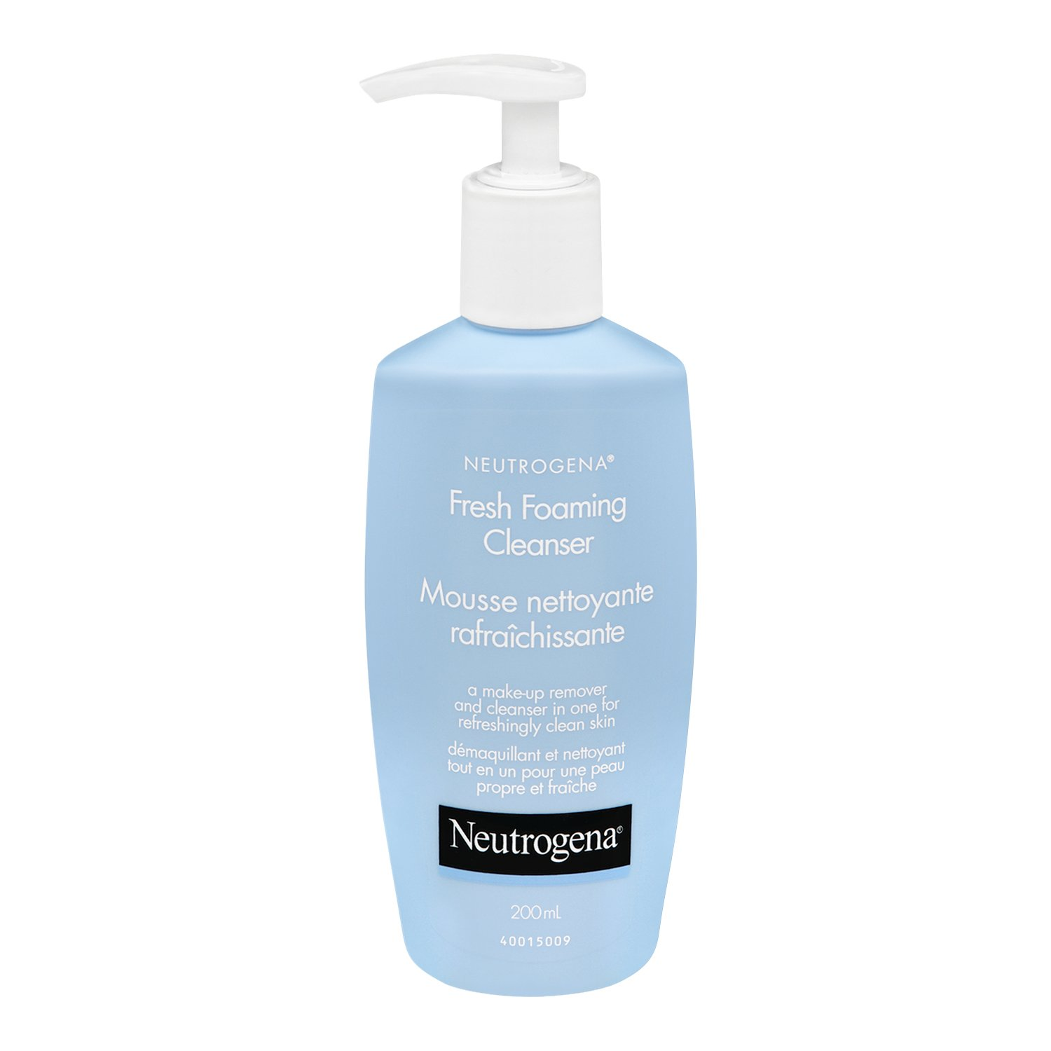 Neutrogena Fresh Foaming Cleanser and Makeup Remover, 200 mL