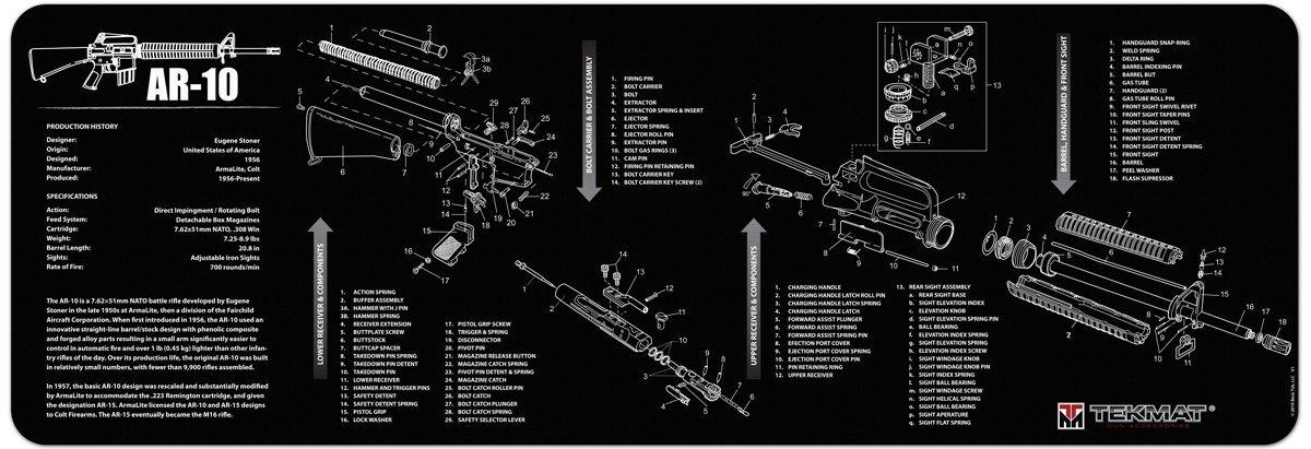 Ar 10 Receiver Diagram Enthusiast Wiring Diagrams