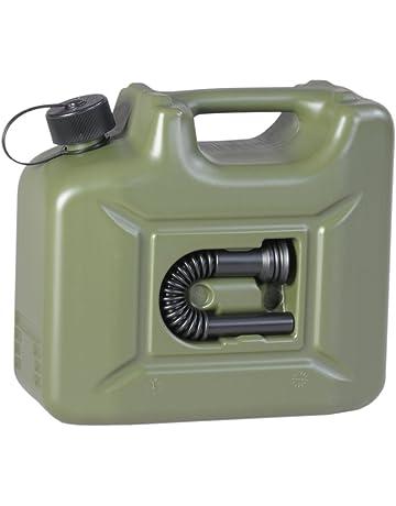 Hünersdorff Bidón para carburante PROFI (UN) 10 L verde oliva, homologación UN,