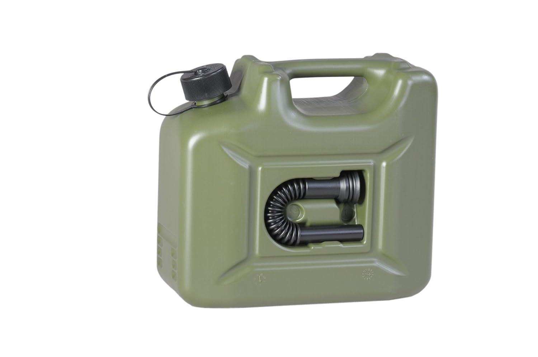 h/ünersdorff GmbH 802010 Nourrices /à Carburant Profi Homologation Nu PE-HD Accessoire 20/L Noir