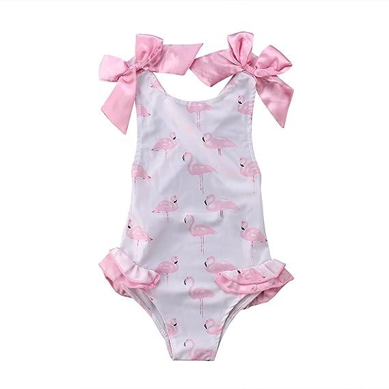 Baby Mädchen Bademode mit Reißverschluss Badebekleidung Säugling Schwimmanzug