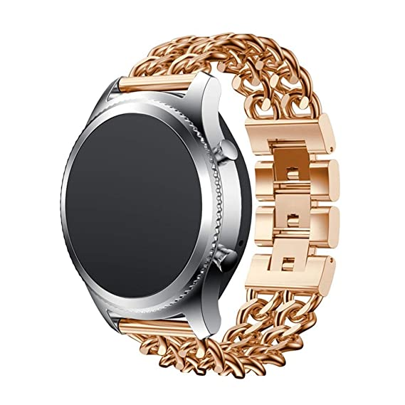 Jewhh Metal Chain Style Bracelet - Smart Watch Band Strap for Samsung Gear S3 - Futural