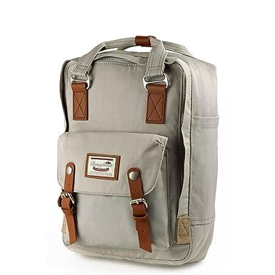5b2443152 ... Amazon com DOUGHNUT Macaroon Backpack Ivory School Bag D010 0009 F