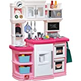 step2 great gourmet kids play kitchen pink - Step2 Little Bakers Kitchen