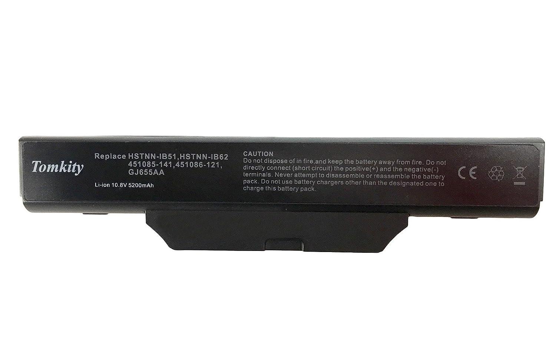 Tomkity 5200mAh batería para HP Compaq 6720s 6730s 6735s 6820s 6830s HP 550 Compaq 510 511 610: Amazon.es: Electrónica
