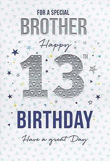 Brother 13th Birthday Card ICG 7664