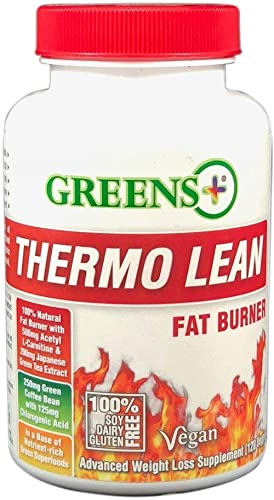 Greens Thermo Lean Natural Fat Burner 120 Capsules