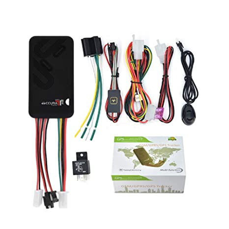 HUAXING GPS Tracker Car gsm vehículo GPS Tracker Moto con antirrobo ...