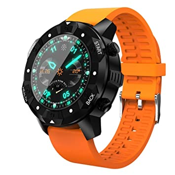 OOLIFENG GPS Relojes inteligentes IP67 a prueba de agua, Deportes al aire libre reloj,