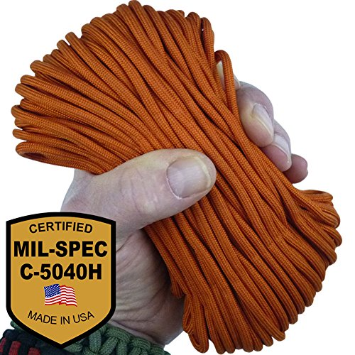 Paracord Guaranteed Specification 550 MIL C 5040H