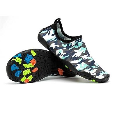 Mens Womens Outdoor-Schwimmen Schuhe Liebhaber Barfuß Schuhe für Beach Running Schnorcheln Surfen Tauchen Yoga Übung (Color : B, Größe : 40)