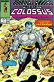 Marvel Comics Presents #15 : Colossus, Black Panther, Marvel Girl, & Red Wolf (Marvel Comic Book 1989)