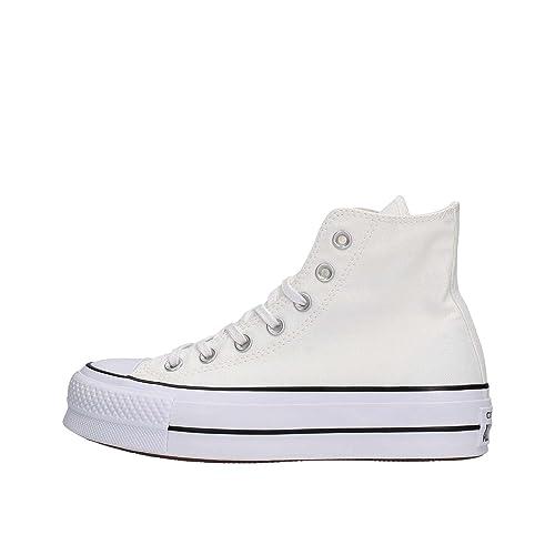 zapatillas converse plataforma mujer