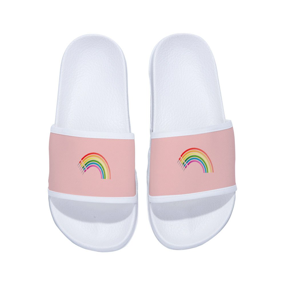 Little Kid//Big Kid Chad Gold Slides Sandals for Boys Girls Comfortable Soft Sole slipper Shoes
