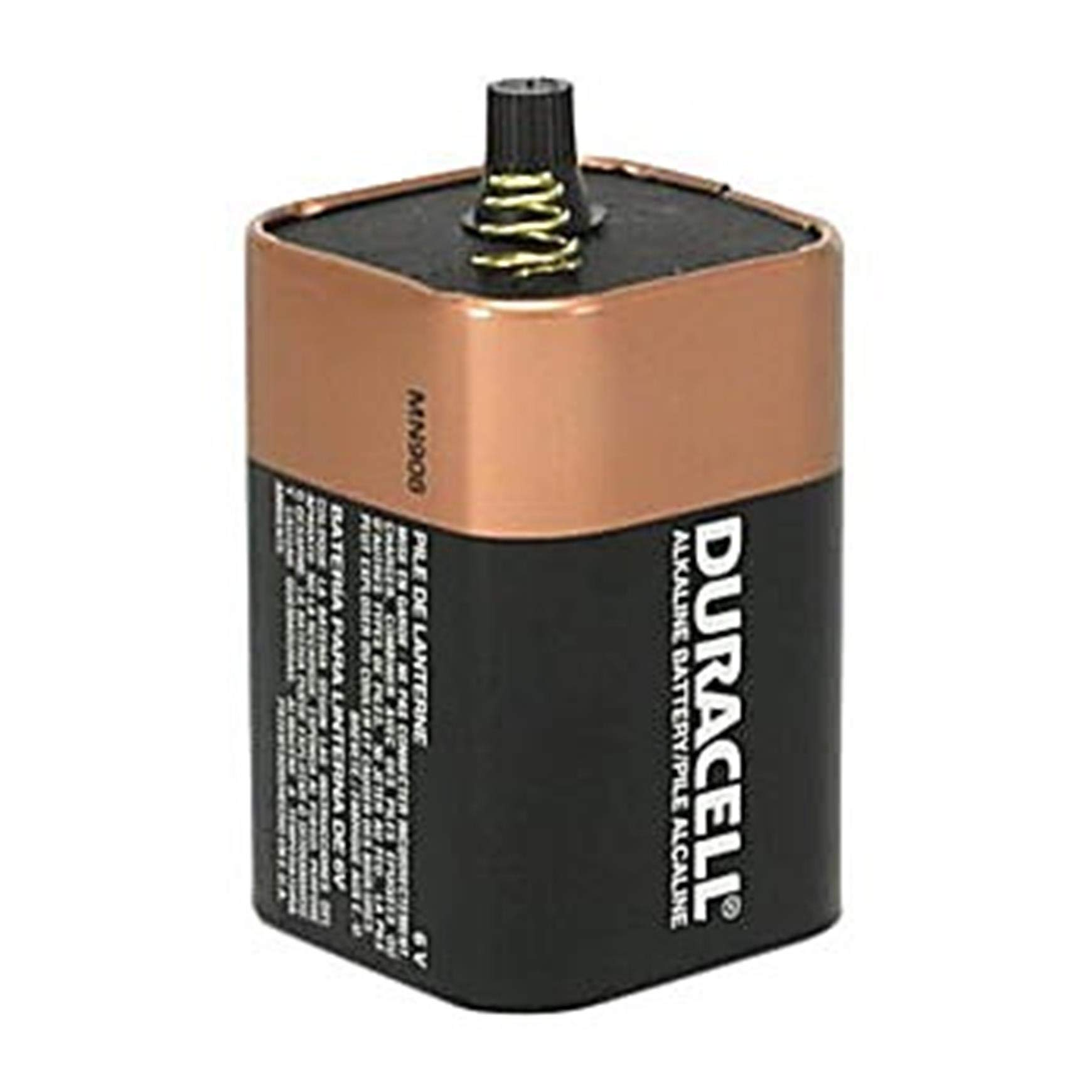 Duracell PGD MN908 Battery, Alkaline, 6V, Spring Top (Pack of 6)