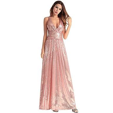 Kleid tragerlos pink