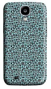 Samsung S4 Case Blue Cartoon Animal 3D Custom Samsung S4 Case Cover Kimberly Kurzendoerfer