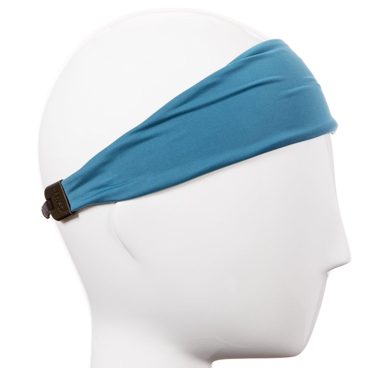 Hipsy Xflex Basic Adjustable /& Stretchy Wide Sports Headbands for Women