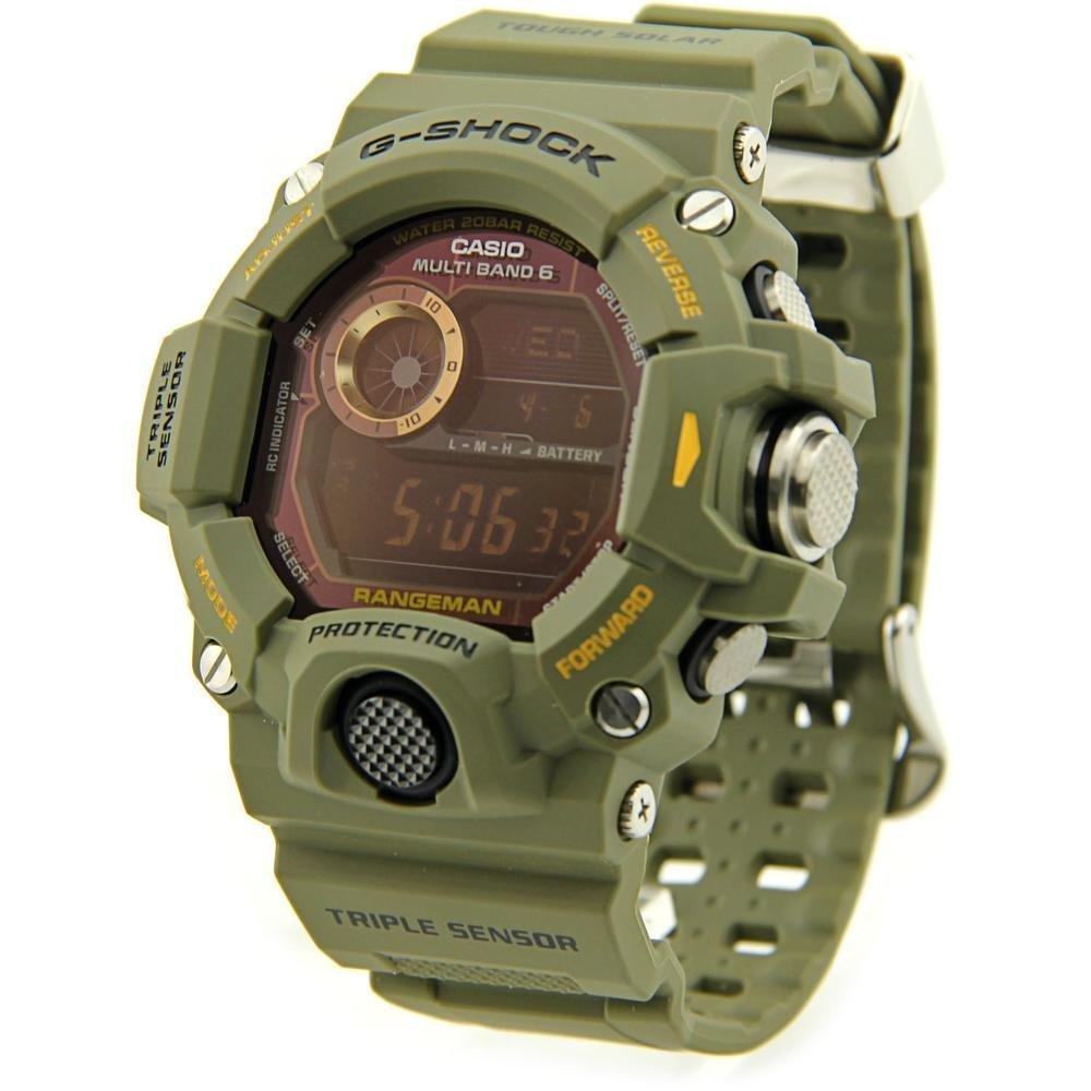 G-Shock Rangeman Master Of G Series Stylish Watch - Green/One Size ...