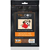All Natural Dog Food Enhancer - Boost Me: Mighty Meaty Beef Booster (3.5oz) Freeze-Dried Raw Superfood Supplement - Easy…