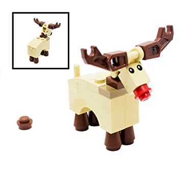 LEGO Rudolph Reindeer Xmas Christmas Santa City: Amazon.co.uk ...