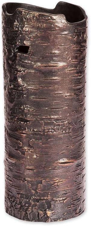 Michael Aram Bark Oxidized Vase Small