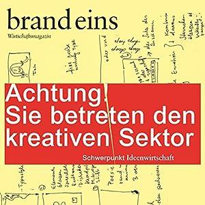 brand eins audio: Kreativer Sektor Audiomagazin