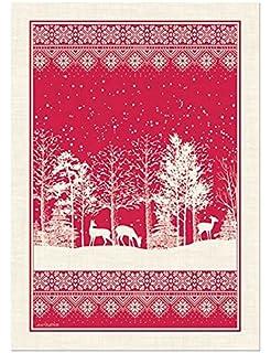 Michel Design Works Cotton Kitchen Dish Towel, Snowy Night Part 74