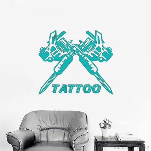 xingbuxin Tatuajes de Pared Tattoo Studio Machine Pattern Wall ...