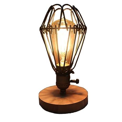 fsliving de la Industria jaula escritorio luz Vintage Style ...