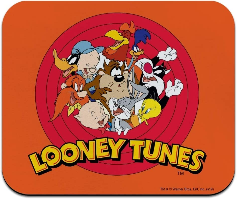 Looney Tunes Group Low Profile Thin Mouse Pad Mousepad