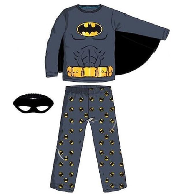 Pijama largo, diseño de Batman multicolor 4 años