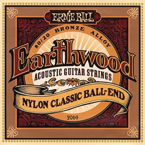 Ernie Ball 2069 Earthwood de la guitarra acústica de cuerdas de ...