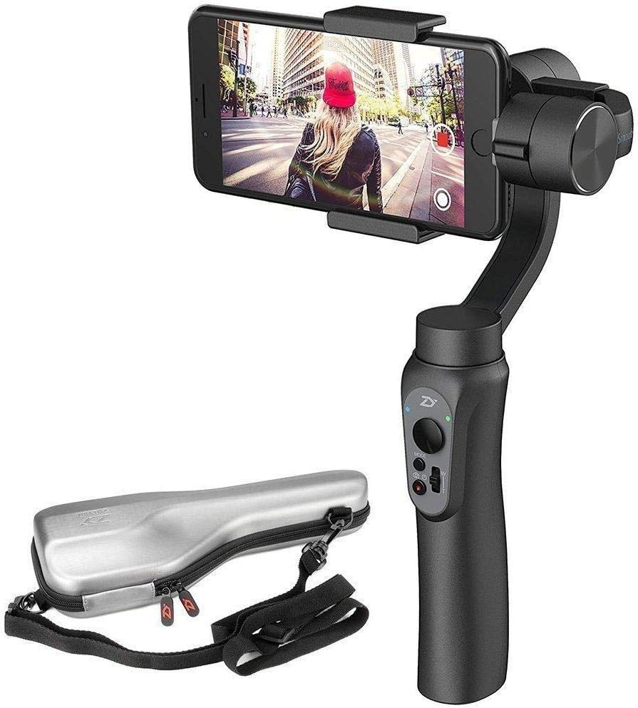 Zhiyun Smooth-Q 3-Axis Handheld Gimbal Stabilizer for Smartphone Like IPhone 7 Plus 6 Plus Samsung Galaxy S7 S6 S5 Wireless Control Vertical Shooting Panorama Mode