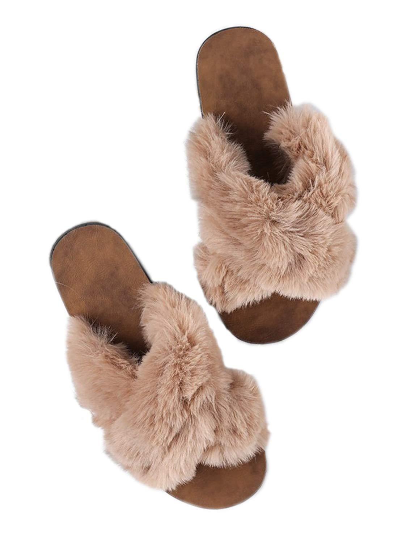 DKKK Womens Cute Animal Summer Linen Slippers Open Toe Non-Slip Rubber Sole