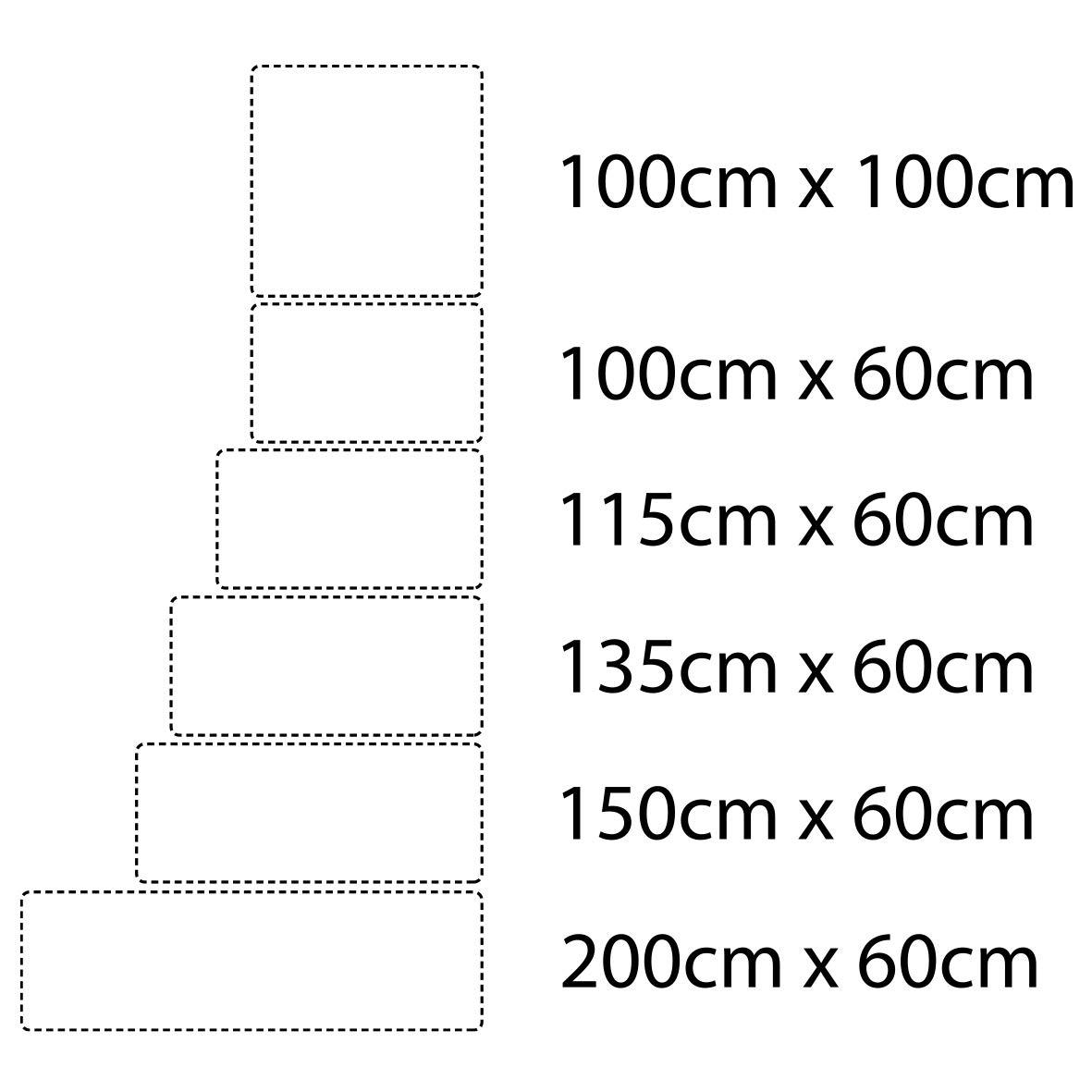 MEGADECOR Cabecero Cama PVC 10mm Decorativo Econ/ómico Modelo Vancouver 100cm x 60cm