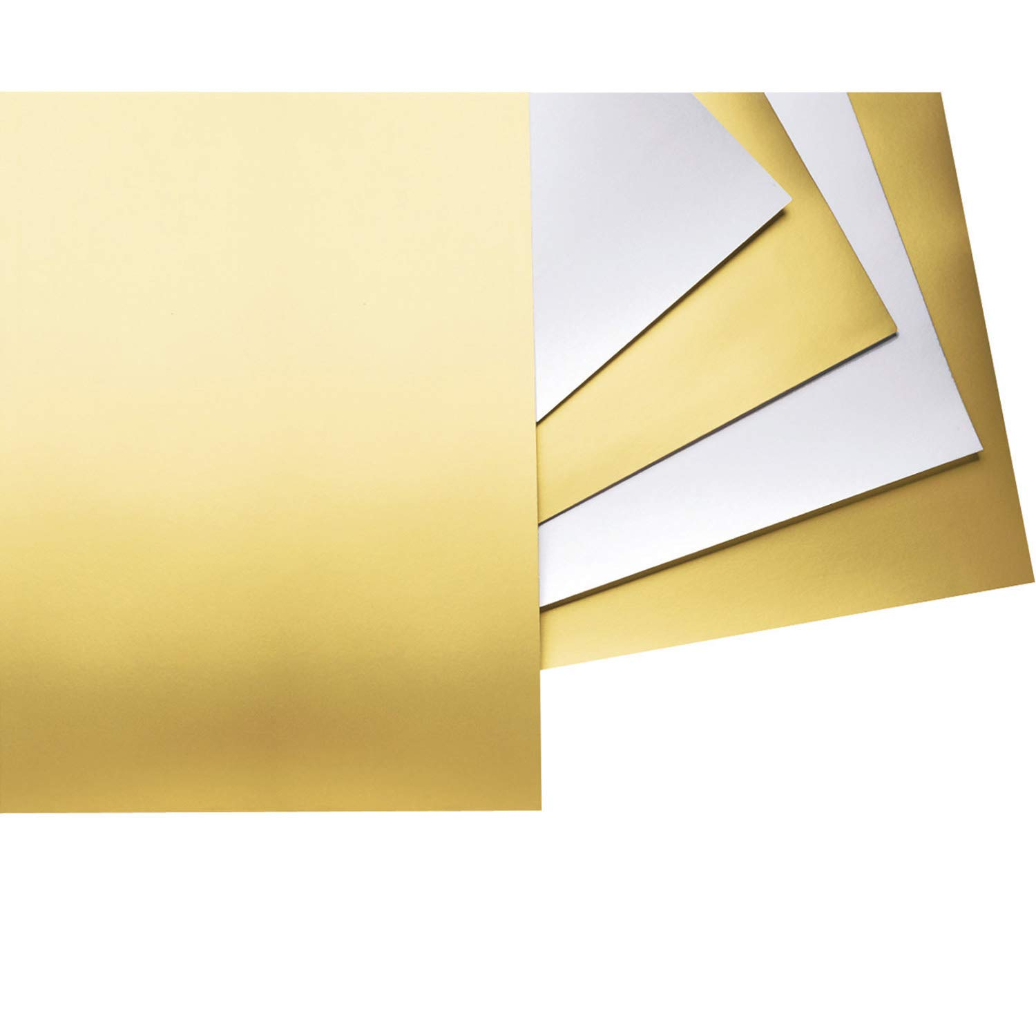 Pacon PAC54981 Poster Board, Gold, 22'' x 28'', 25 Sheets by UCreate