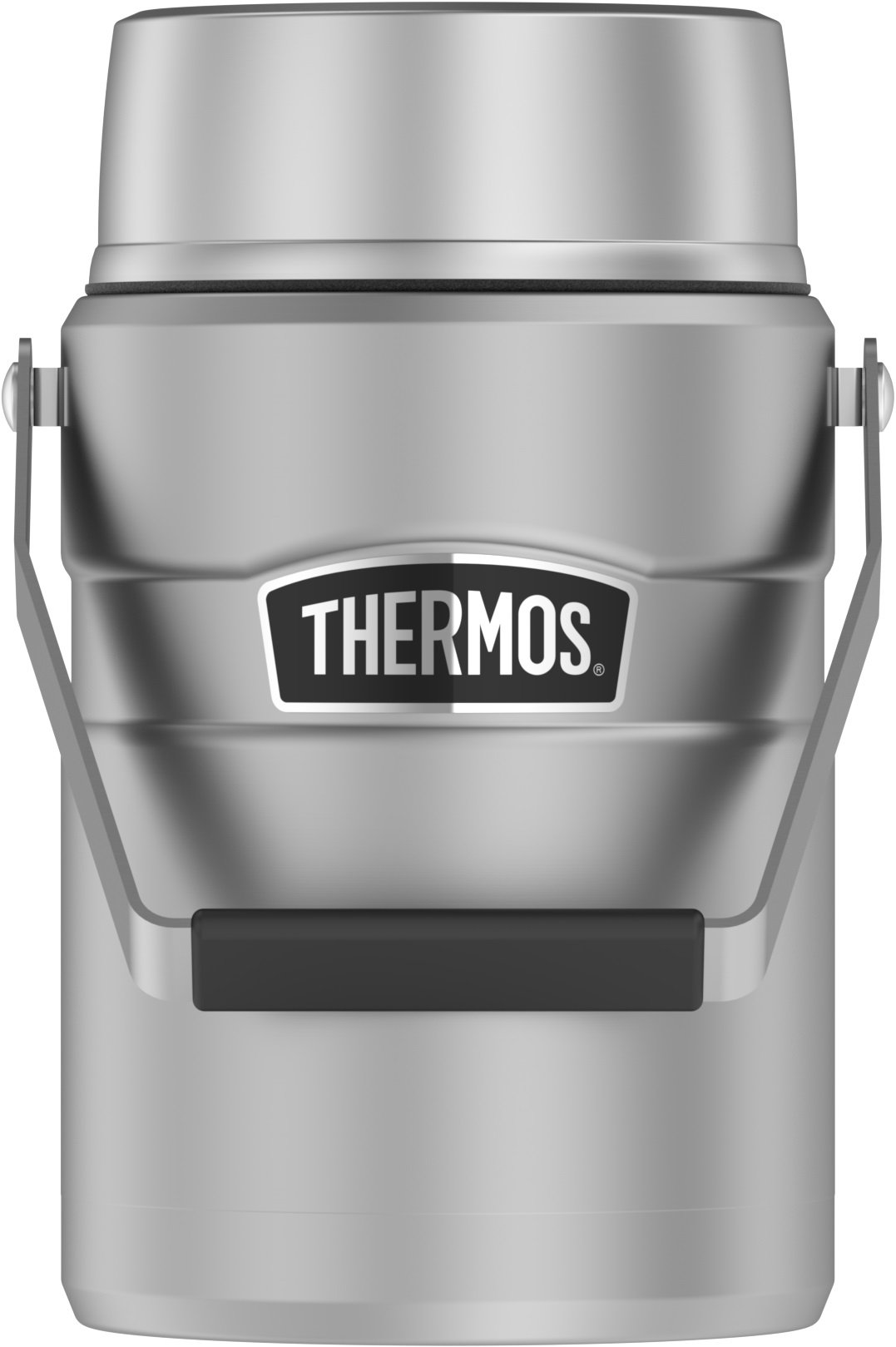 Thermos Stainless King 47 Ounce Vacuum Insulated Food Jar with 2 Inserts, Stainless Steel by Thermos