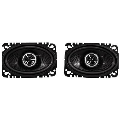 "Kenwood Excelon KFC-X463C 4"" x 6"" 2 Way Pair Of Car Audio Speakers Totalling 200 Watts Peak / 60 Watts RMS: Car Electronics"
