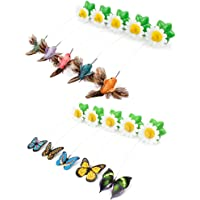 Innersetting Funny Pet Cat Toys Butterfly Cat Kitten Playing Toys Pet Seat Scratch Toy